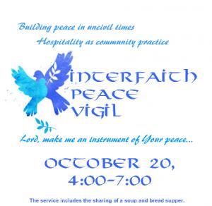 cr Interfaith Peace Vigil